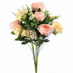 Ramo flores artificiales peonias