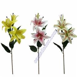Lilium artificial amb 2 flors