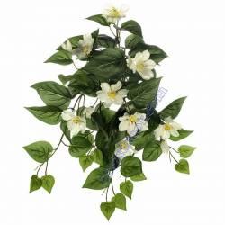 Planta artificial clematis que penja