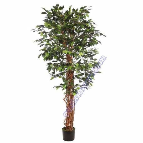 Ficus artificial troncos naturales lianas 180