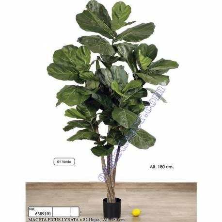 Ficus lyrata artificial 180