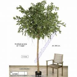 Ficus artificial compact 290
