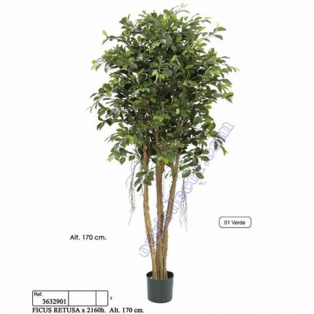 Ficus artificial retusa 170