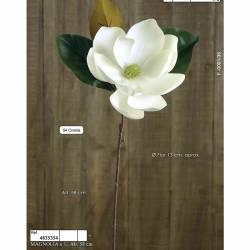 Magnolia artificial blanca