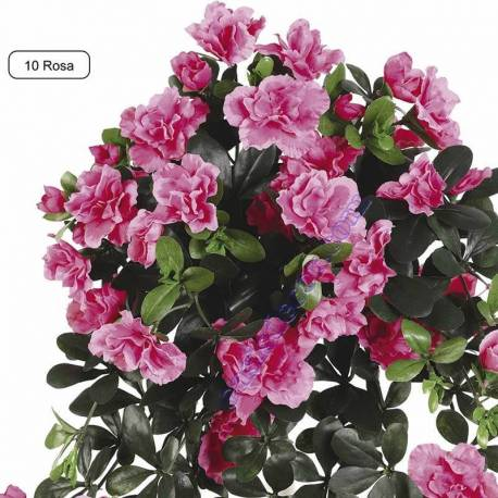 Planta artificial azalea colgante