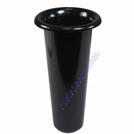 Pitxer plastic per a cementeri color negre