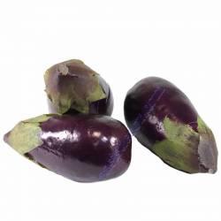 Albergínia artificial en malla de 3 unitats