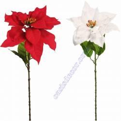 Flor de pasqua artificial poinsettia