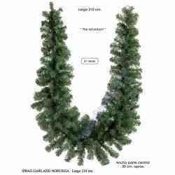 Garlanda Nadal pi artificial Noruega 210