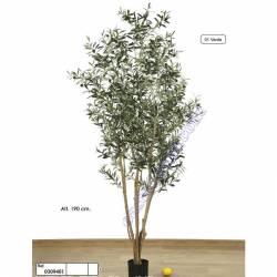 Olivera artificial amb olives de plastic 190