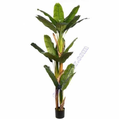 Bananera artificial Tropic con maceta 180