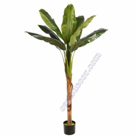 Bananera artificial Tropic con maceta un tronco 150