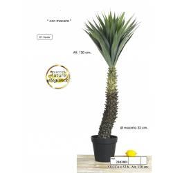 Yucca artificial 120 con maceta