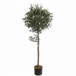 Olivera artificial amb olives de plastic 140