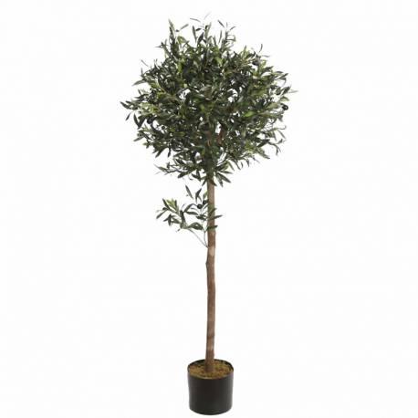 Olivo artificial con aceitunas de plastico 140