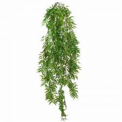 Planta artificial colgante bambu de plastico 100