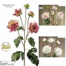 Flor dahlia artificial