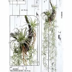 Planta tillandsia artificial 070