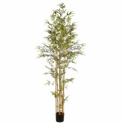 Arbol bambu artificial con maceta 210