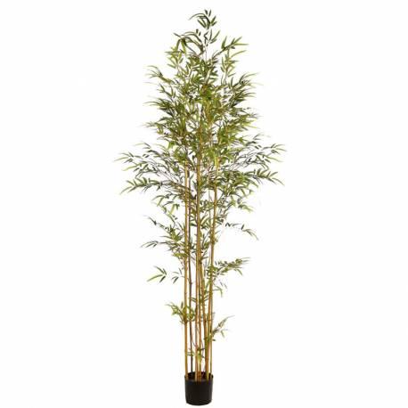 Arbol bambu artificial con maceta 210