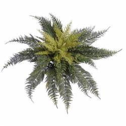 Planta helecho artificial de plastico sin maceta