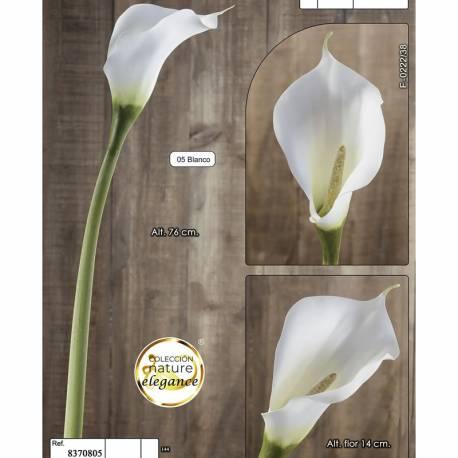 Flor cala artificial lily