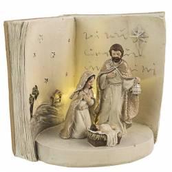 Nacimiento de Navidad Doroty libro con led
