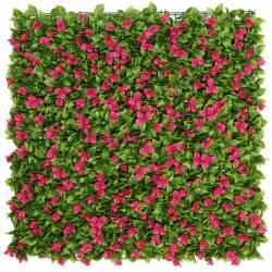 Placa plantas artificiales jardin vertical buganvilla plastico