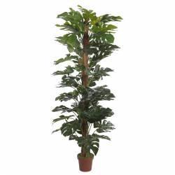 Planta monstera artificial amb tutor 190