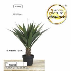 Yucca artificial 155 con maceta