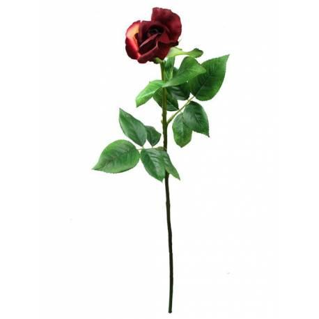 Flor capoll rosa artificial