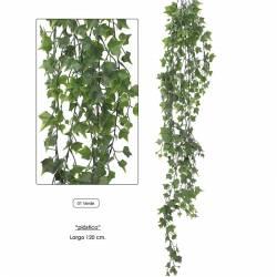 Planta artificial colgante hiedra de plastico