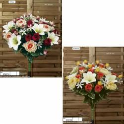 Ram redó flors artificials ranunculus lily