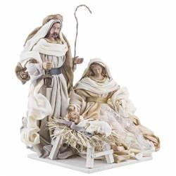 Nacimiento de Navidad afectivo blanco