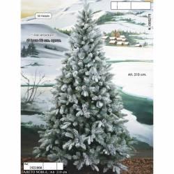 Arbol Navidad artificial helado 210