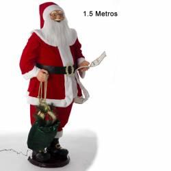 Muñeco Papa Noel grande canta y baila