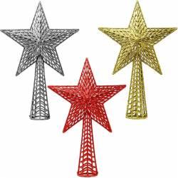 Estrella Navidad remate abetos grande