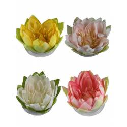 Flor lotus artificial flotant gran