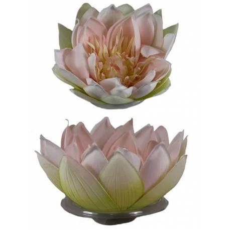 Flor lotus artificial flotante grande