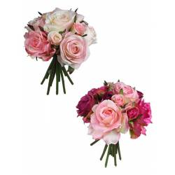 Buquet roses artificials