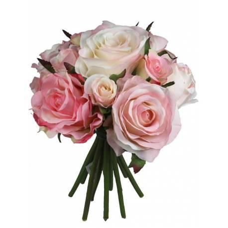 Bouquet rosas artificiales