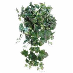 Planta que penja parra artificial morada-verd