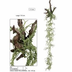 Planta artificial penjant arrel tillandsia 110