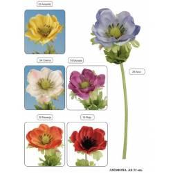 Flor artificial anemone