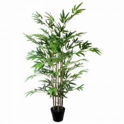 Bambu artificial con 5 cañas 120