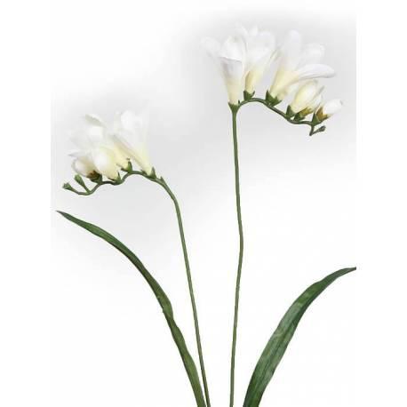 Flores artificiales fresias economicas
