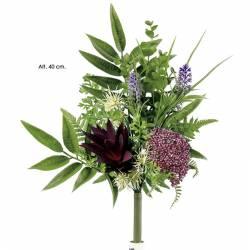 Xicotet ram flors artificials cementeri astilbe