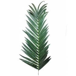 Hoja de palmera artificial mediana