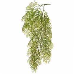 Rama hojas artificiales de mimosa