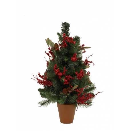 Pi artificial xicotet de Nadal amb grèvol 066